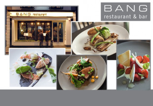 3 Course Dinner for 2 with wine @ Bang