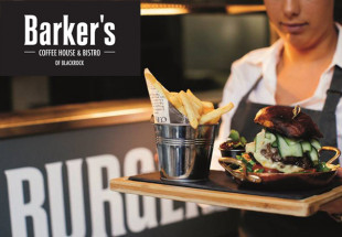 Dinner for 2 at Barker's Bistro, Blackrock