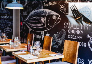 3 course dinner for 2 at Catch 22@Bar Rua