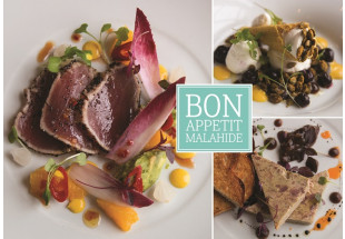 2-Course dinner for 2 with wine at Bon Appetit