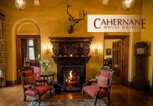 2 nights B&B + Dinner at Cahernane House Hotel