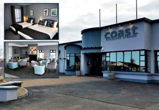 One night B&B for two at Coast Rosslare Strand