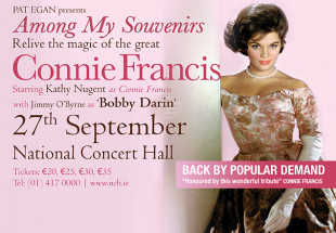 Magic of Connie Francis, NCH 27th Sept