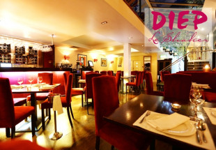 3 course meal for two at Diep Le Shaker