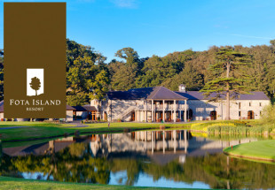 2 night stay with dinner and spa credit at Fota
