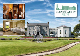 Glenlo Abbey 2 night dinner/1B&B for 2 €348