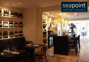 4 course dinner for two at Seapoint Restaurant