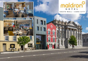 Two night stay in the Maldron Hotel South Mall