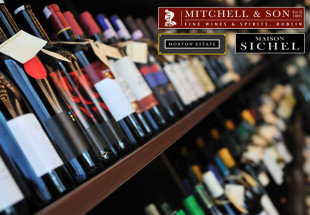 Christmas case of fine wines from Mitchell & Son