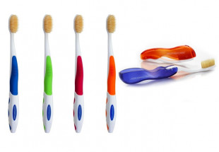 Family pack of MouthWatchers toothbrushes