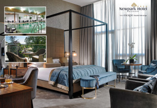 Luxurious overnight break in Newpark Hotel