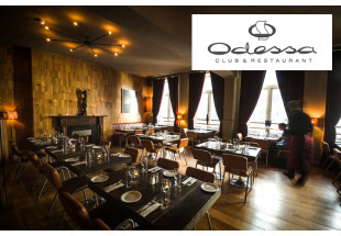 3 course dinner with wine at Odessa