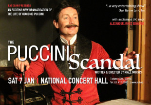 'The Puccini Scandal' ticket, Jan 7th 2017 NCH