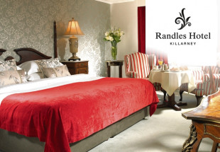 2 or 3 night stay in Randles Hotel, Killarney