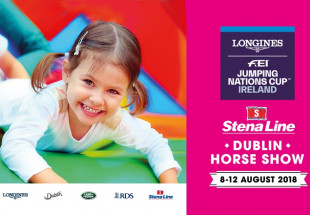 FAMILY offer to Dublin Horse Show 12th August
