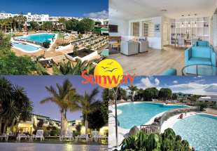 Lanzarote escape for two with Sunway Holidays