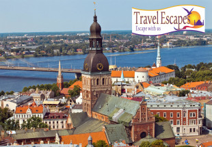City break to Riga including tour for two