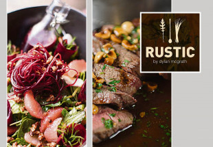 Dinner for 2 with drinks at Rustic Stone