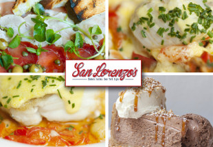 3 course lunch at San Lorenzo's