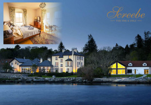 Enjoy two nights in Screebe House Connemara