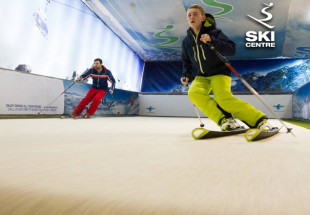 2 Ski Lessons at the Indoor Ski Centre