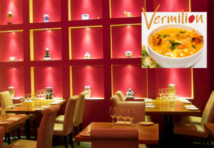 Three course meal for two at Vermilion