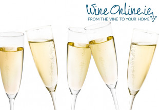 Prosecco with glasses from WineOnline.ie