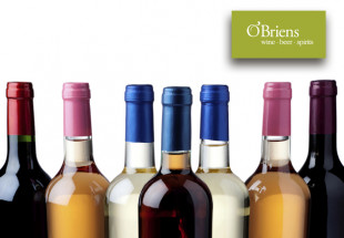 A case of wines from O'Briens Wine