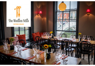 Dinner for 2 with wine at the Woollen Mills