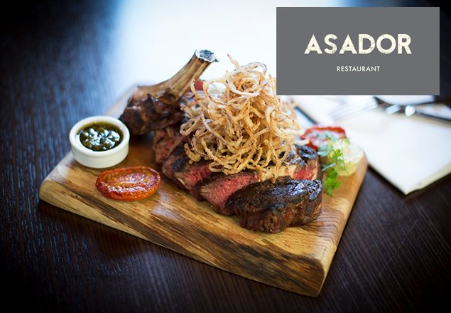 5 Course BBQ Menu at Asador