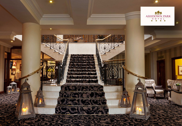 One night stay at the Ashdown Park Hotel