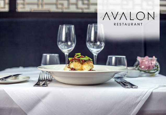 3 course dinner for 2 w/wine at Avalon