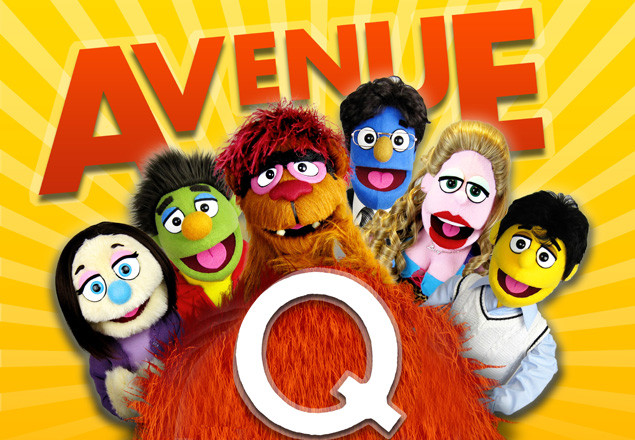 Avenue Q on Tues 5th August at BGET