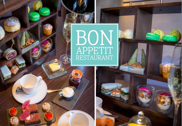 Award-winning Afternoon Tea for 2 at Bon Appetit