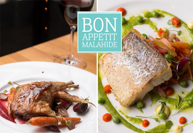 2 course dinner for 2 & wine at Bon Appetit
