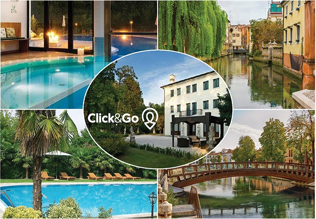 Treviso & Venice for 2 people with Click&Go