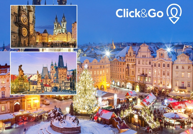 5* Prague Christmas Markets €698 for 2 people