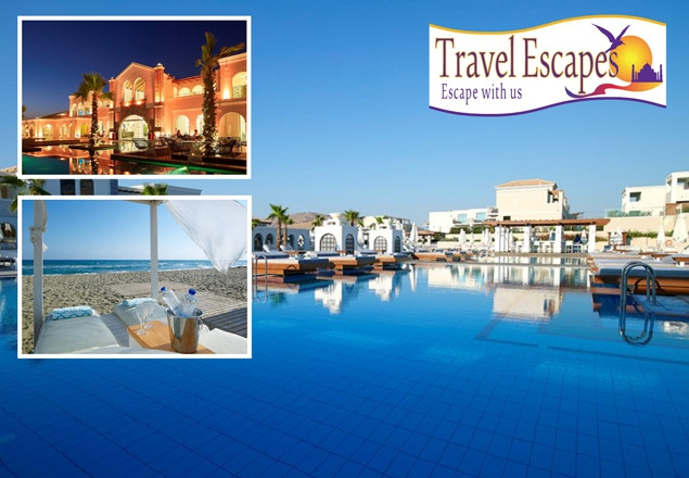 5* Crete for 2  with Travel Escapes