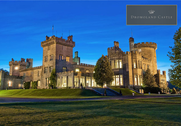 Overnight stay for 2 at 5* Dromoland Castle