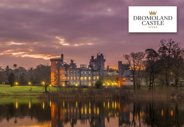 One night bed & breakfast at Dromoland Castle