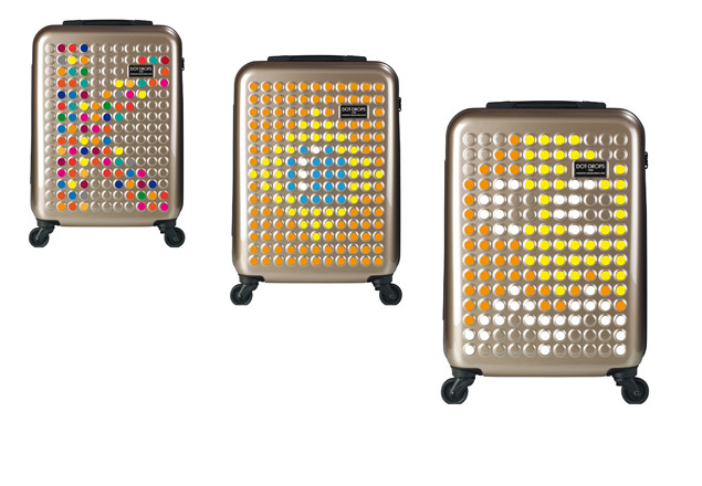 Carry-on lightweight suitcase from DOT Drops