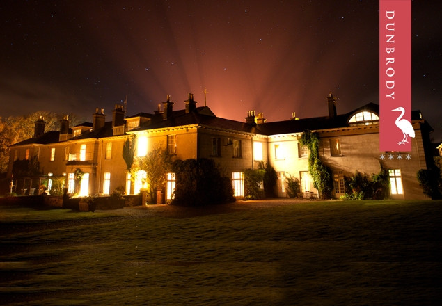 2 nights in Dunbrody Hotel, Wexford.