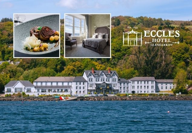 Three night Summer stay for two at Eccles Hotel