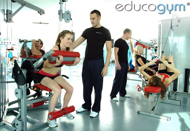 3 one-to-one training sessions at Educogym