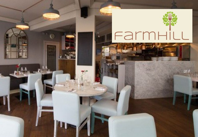 3 course dinner for 2 in Farmhill Restaurant