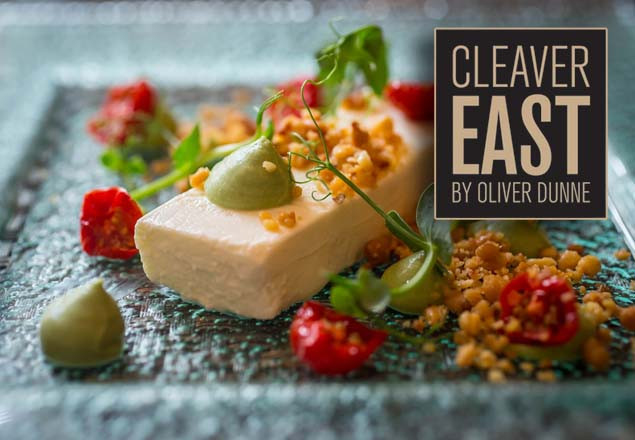 Dinner with wine at Cleaver East