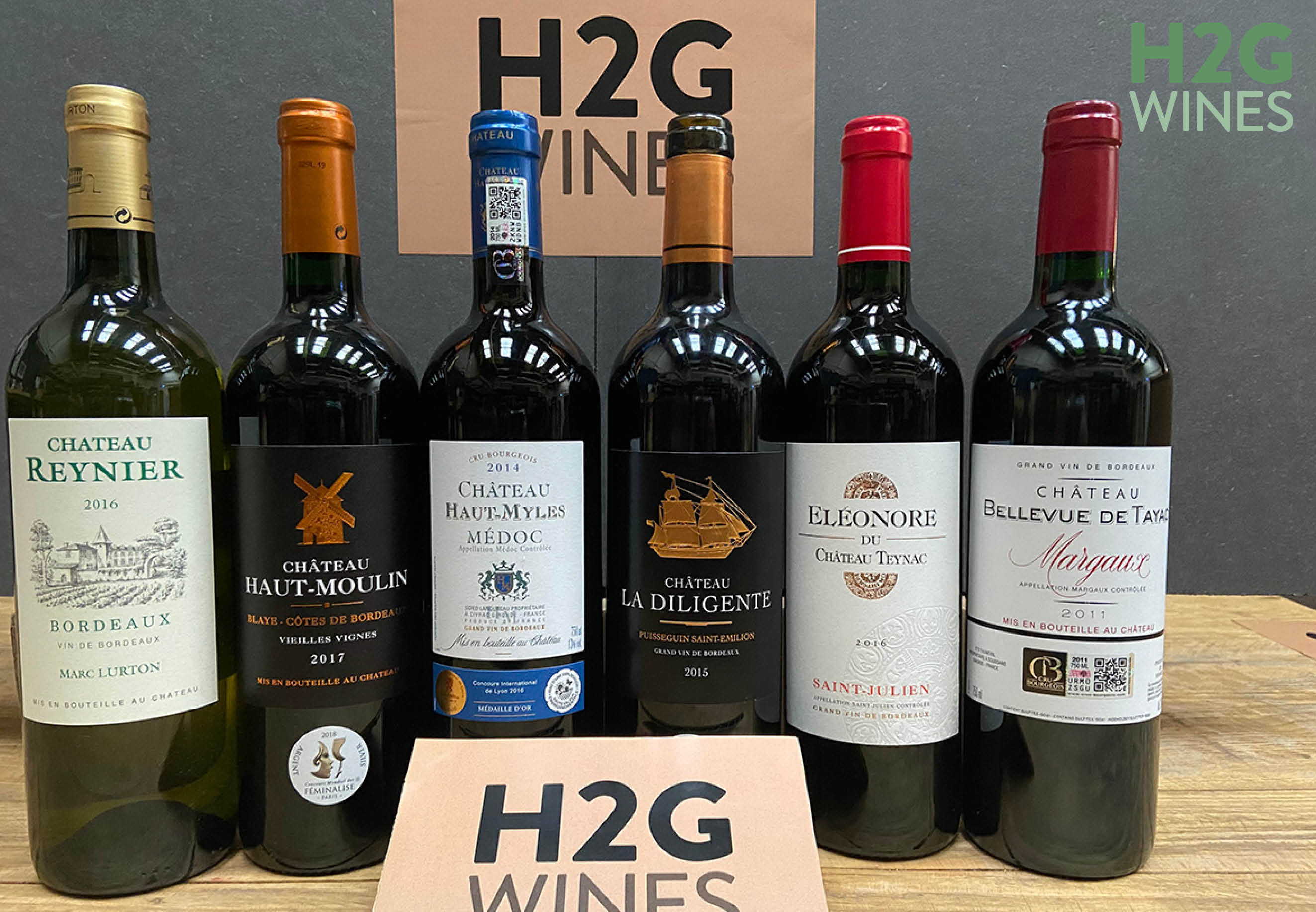 Explore Bordeaux wines with h2gwines.ie