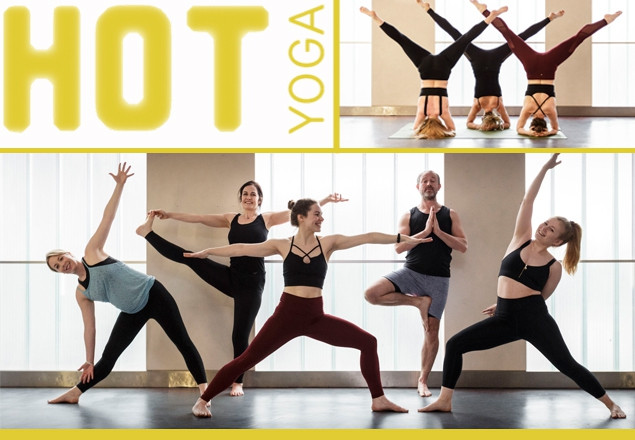 Hot Yoga, month's classes in Rathmines