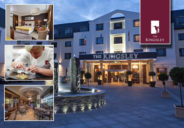 2 night stay for 2 at the Kingsley, Cork