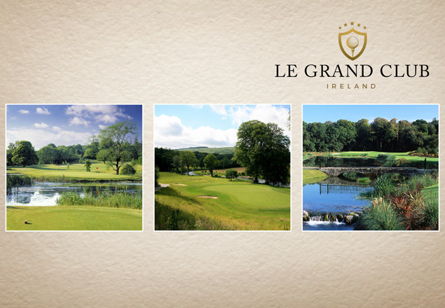3 course golf pass from Le Grand Club